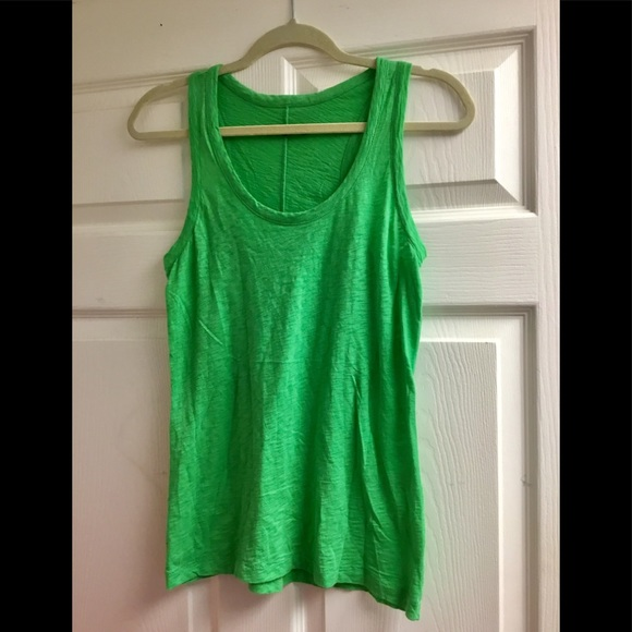 rag & bone Tops - Rag & bone green tank top size S